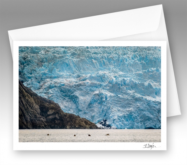 Holgate Glacier note card